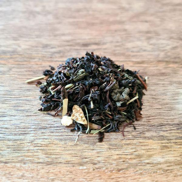 Thé noir et vert Bio – Baroness Grey en sachet