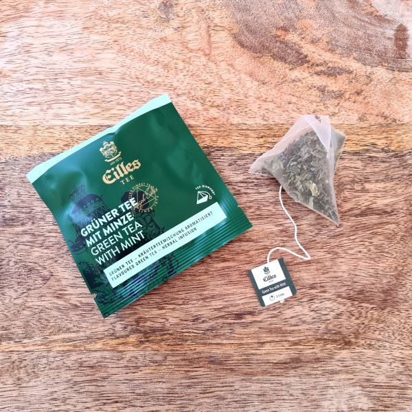 Thé vert à la menthe en sachet