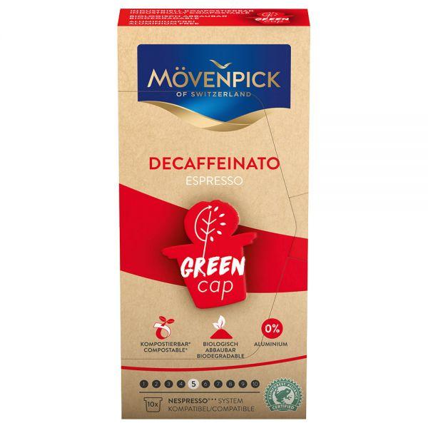 Mövenpick DECAFFEINATO Espresso capsules